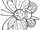 Online Spring Coloring Pages Free Line Printable Kids Colouring Pages Baby butterfly
