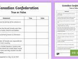 Ontario Flag Coloring Page Canadian Confederation True or False Worksheet Worksheet