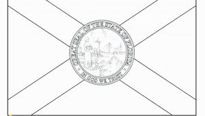 Ontario Flag Coloring Page Printable Ca Flag