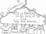 Open Bible Coloring Page Colossians 3 12 Bible Coloring Page