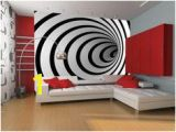 Optical Illusion Wall Murals Custom 3d Elephant Wall Mural Personalized Giant Wallpaper