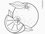 Orange Juice Coloring Page orange Fruit Drawing at Getdrawings