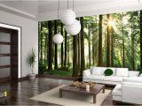 Order Wall Murals Online Sunbeam Through Trees Wall Mural фотообои Tapet Wallmural