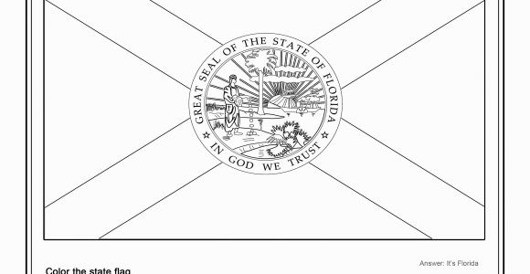 Oregon Flag Coloring Page Coloring Page State Flag Florida Printable Worksheet Surviving the