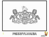 Oregon State Flag Coloring Page Pennsylvania State Flag Coloring Page Eskayalitim