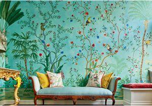 Oriental Wall Murals Uk De Gournay