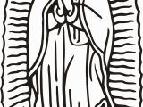 Our Lady Of Guadalupe Coloring Page Our Lady Guadalupe Coloring Page at Getcolorings
