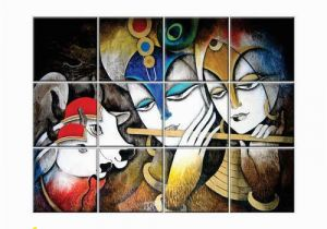 Outdoor Ceramic Tile Murals Tiles Radha Krishna Wall Tiles Nish Manufacturer From Allahabad