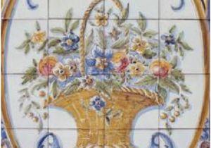 Outdoor Spanish Tile Murals 35 Best Flowers Tile Murals Images In 2019