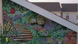 Outdoor Wall Mural Stencils Exterior Wall Murals