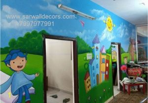 Outdoor Wall Murals for Schools Wall Painting for Pre Primary School Hyderabad Wall Art for