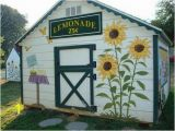 Outdoor Wall Murals for the Garden Outdoor Sunflower Mural order some Day