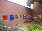 Outdoor Wall Murals for the Garden School Garden Mural