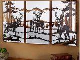 Outdoor Wildlife Wall Murals 3 Pc Wildlife Mirrors