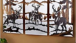Outdoor Wildlife Wall Murals 3 Pc Wildlife Mirrors