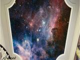 Outer Space Ceiling Murals 3d Nebula Outer Space Universe Wallpaper Full Wall Mural