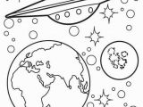 Outerspace Coloring Pages Space Coloring 12 Eco Coloring Page