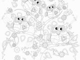 Owl Color Pages for Adults Coloring Book for Adult and Older Children Coloring Page with