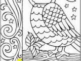 Owl Color Pages for Adults Free Owl Coloring Page for Adults and Teens