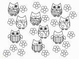 Owl Color Pages for Adults Owl Coloring Pages to Print