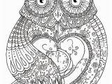 Owl Color Pages for Adults Pin Od Aga Stajak Na Kolorowanki