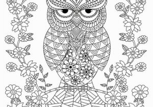Owl Coloring Pages for Adults to Print 22 Free Owl Coloring Pages for Adults