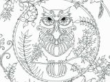 Owl Coloring Pages to Print for Adults Adult Coloring Pages Owl Download