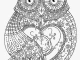 Owl Coloring Pages to Print for Adults Inspiring Owl Coloring Pages for Adults Printable Image Difficult