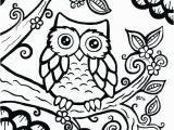Owl Coloring Pages to Print for Adults Owl Color Pages Owl Coloring Pages Print Free Printable Cute Owl