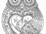Owl Coloring Pages to Print for Adults Owl Coloring Pages for Adults Printable Kids Colouring Pages