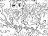Owl Coloring Pages to Print for Adults Printable Coloring Pages for Adults 15 Free Designs