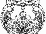 Owl Coloring Pages to Print for Adults Unbelievable Owl Coloring Pages for Adults Printable Image Picture