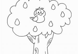 Owl In A Tree Coloring Page the Owl is In the Tree Coloring Page Twisty Noodle