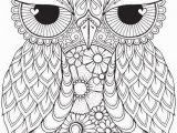Owl Mandala Coloring Pages for Adults Coloring Pages for Adults Pdf Free Download