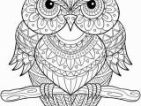 Owl Mandala Coloring Pages for Adults Owl Mandala Coloring Page