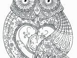 Owl Mandala Coloring Pages for Adults Owl Mandala Printable Neo Coloring