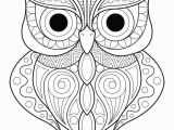 Owl Mandala Coloring Pages for Adults Owl Simple Patterns 2 Owls Coloring Pages for Adults