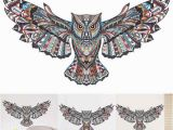 Owl Peel and Stick Wall Mural Removable Animal Owl Wings Wall Sticker Bird Flying Vinyl Decal Living Room Art Self Adhesive Decor Diy 60cm 45cm Cheap Vinyl Wall Decals Cheap Wall