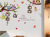 Owl Peel and Stick Wall Mural Shop Cartoon Owl Diy Wall Stickers for Kids Rooms Murals