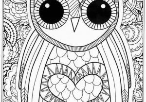 Owl Printable Coloring Pages Owls to Print Coloring Page An Owl Printable Coloring