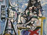 Pablo Picasso Mural 1965 Le Mod¨le Dans L atelier 3 Pablo Picasso