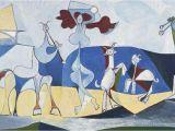 Pablo Picasso Mural Joie De Vivire 1946 by Pablo Picasso