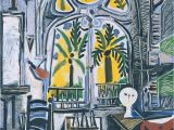 Pablo Picasso Mural Pablo Picasso the Studio 1955 Oil On Canvas We D Call This A