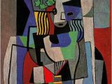Pablo Picasso Mural the Student 1919 by Pablo Picasso Cubist Period Cubism Portrait