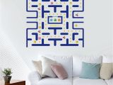 Pac Man Wall Mural Pac Man Wall Decals Kids Game Wall Stickers Nursery Boys Bedroom Wall Decor Itoღ