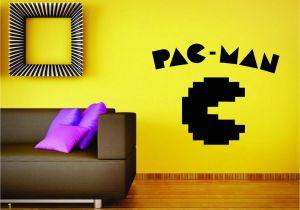 Pac Man Wall Mural Us $4 79 Off Pac Man Gry Nintendo Mural Winylowa Tablica Naścienna Naklejka Do Wystroju Gamer Laptop Darmowa Wysyłka W Naklejki ścienne Od Dom I
