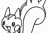 Pachirisu Coloring Pages Luxury Pokemon Coloring Pages Pachirisu