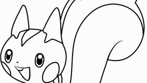 Pachirisu Coloring Pages Pachirisu Pokemon Coloring Page Free Pokémon Coloring Pages