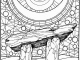 Pagan Witch Coloring Pages for Adults Adult Pagan Coloring Pages