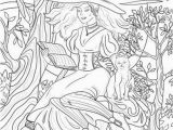 Pagan Witch Coloring Pages for Adults Witchcraft Printable Adult Coloring Page From Favoreads